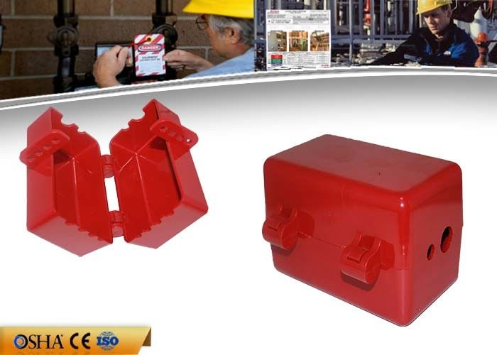ABS Pneumatic Plug Circuit Breaker Lockout Available 4pcs Padlocks