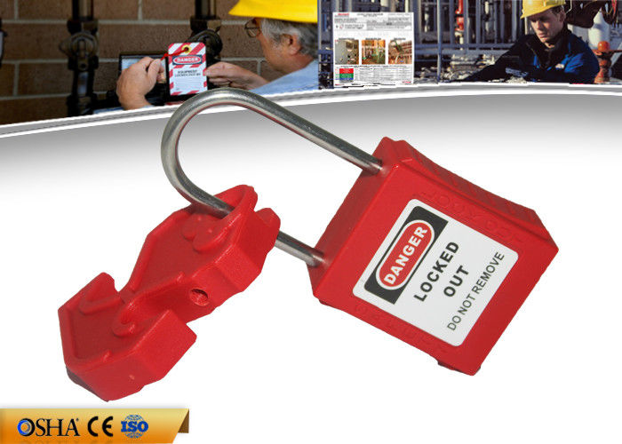 Universal Miniature Breaker Lockout Device