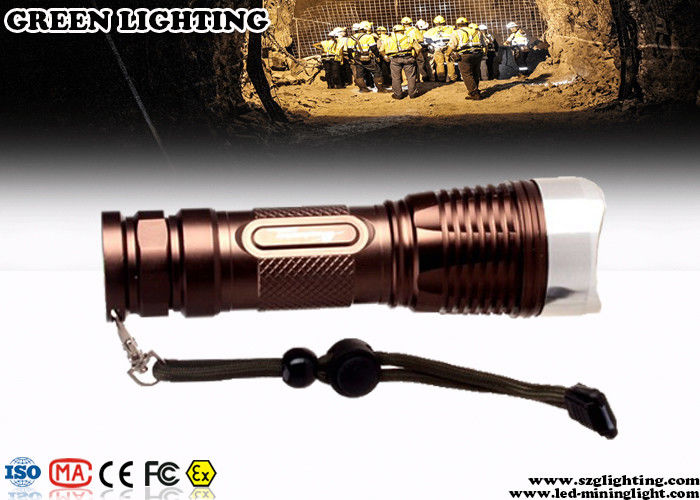 Mini CREE LED Flashlight Torch Waterproof 1100 Lumen Aluminum Alloy Housing