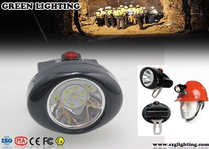 1W 4000 Lux CREE Cordless Mining Lights 2.8Ah Rechargeable Li - Ion Battery