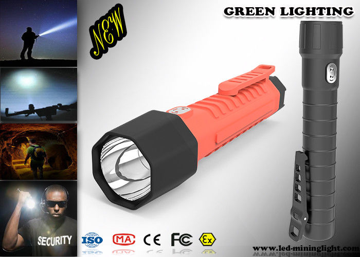 Waterproof IP 68 Powerful Led Torch With CREE OLED Digital Screen 20000Lux