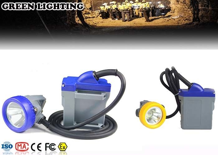 10000Lux IP68 Anti-Explosion Rechargeable LED Headlamp With 6.6Ah Battery
