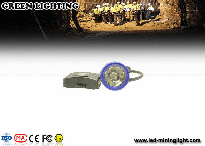 IP67 5.6ah Semi Corded LED Mining Light PP Meterial 8000 lux Strong Brightness