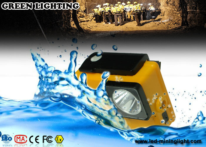 7000 Lux Waterproof Safety Rechargeable Led Headlamp 18650 Li - Ion Battery