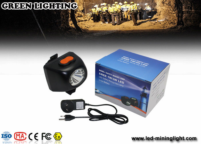 IP68 Waterproof superbright explosion-proof Cordless headlight With OLED intelligence display