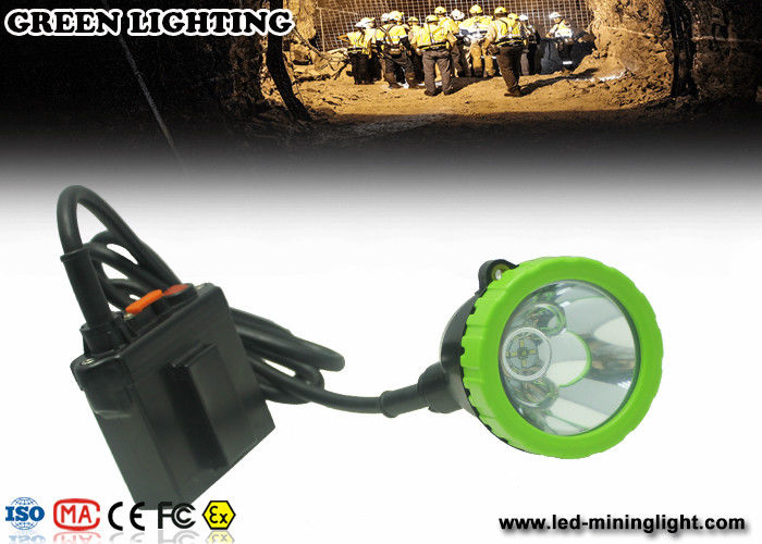 Explosion Proof Underground Coal Mining Lights , Safety Hard Hat Headlamp 50000 Lux 5w Cree Led