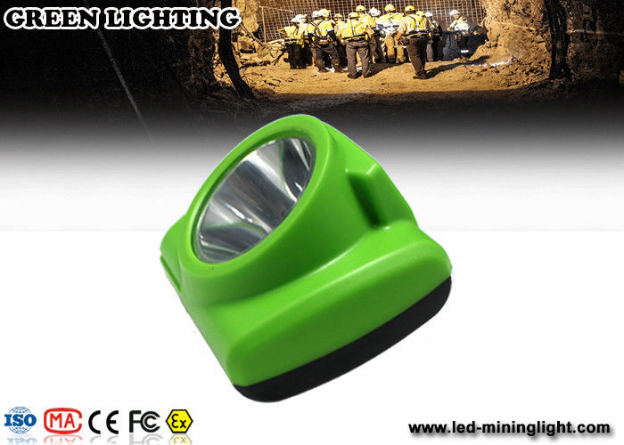 Pc Led Miners Cap Lamp , 13000lux Logo Customized Mining Lamps For Hard Hats
