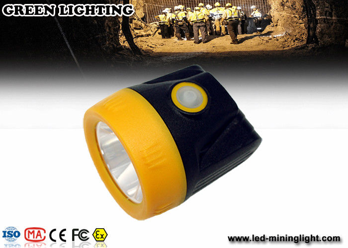 Color Customized 3.7v 3.8ah Battery LED Mining Light Eco - Friendly PC Material