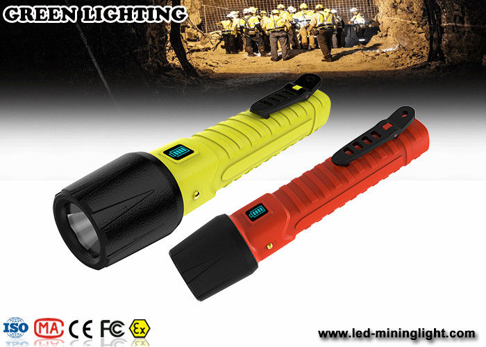 Rechargeable LED Explosion Proof Torch flashlight IP68 high water proof grade