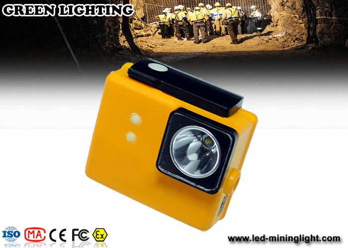 PC 6.4ah 3.7v Battery Cree Led Mining Light , Miners Lights For Hard Hats