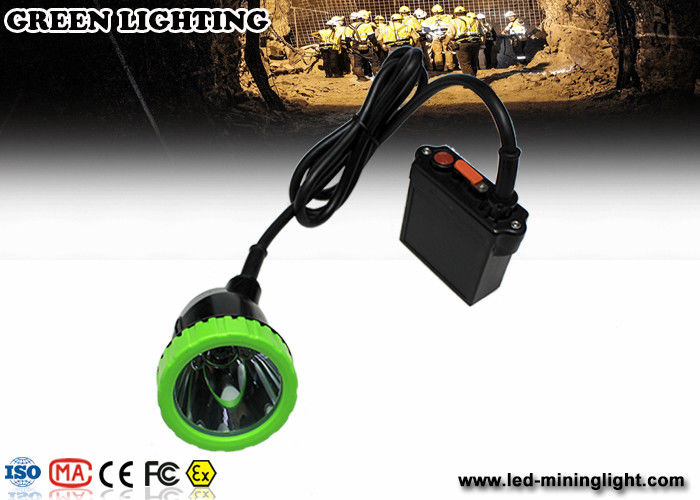 Green and Black Professional LED Hunting Lamp With 650lum , 13 hours Working Time
