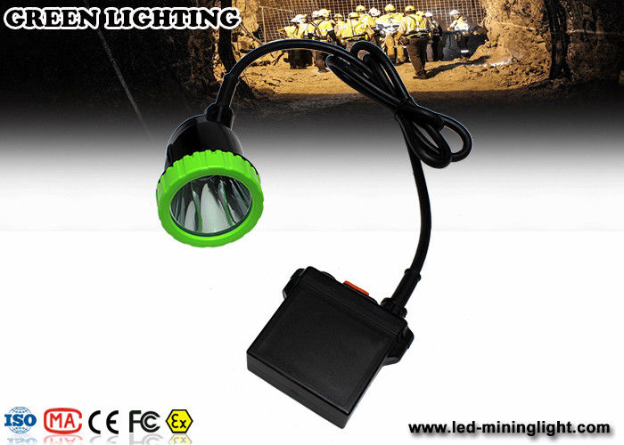 5W LED Mining Light With 50000lux Super Brightness 11.2Ah LED Mining Headlamp