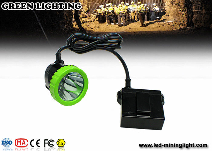 3.7V 11.2Ah Li-Ion Battery LED Mining Light / LED Cap Lamp , Charging Time 8 Hours