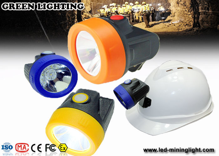 Colorfull Cover LED Miners Headlamp , Underground Mapping staff Coal Mining Lights