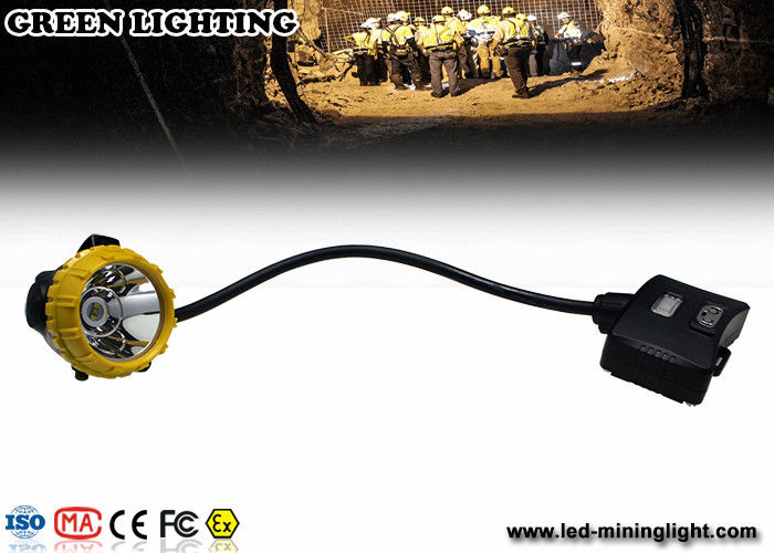 15000lux High Brightness LED Mining Light IP68 Waterproof Miners Cap Lamp