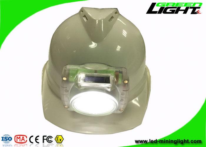 Cordless Led Mining Light Ip68 Miners Hard Hat Lamp For