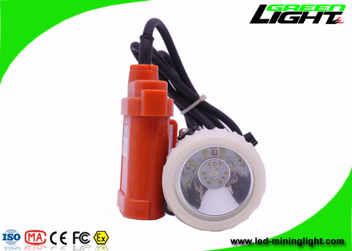 3.5 Ah Ni-MH Battery High Power Led Headlamp For Mining , 4000lux Brightness