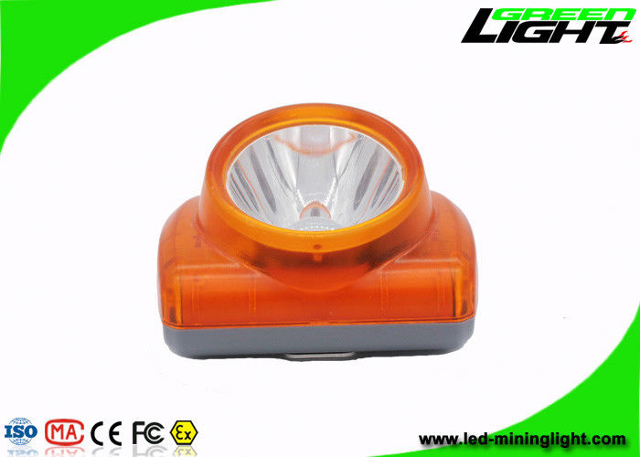 13000lux LED Mining Light IP 68 Waterproof Grade With USB Charging