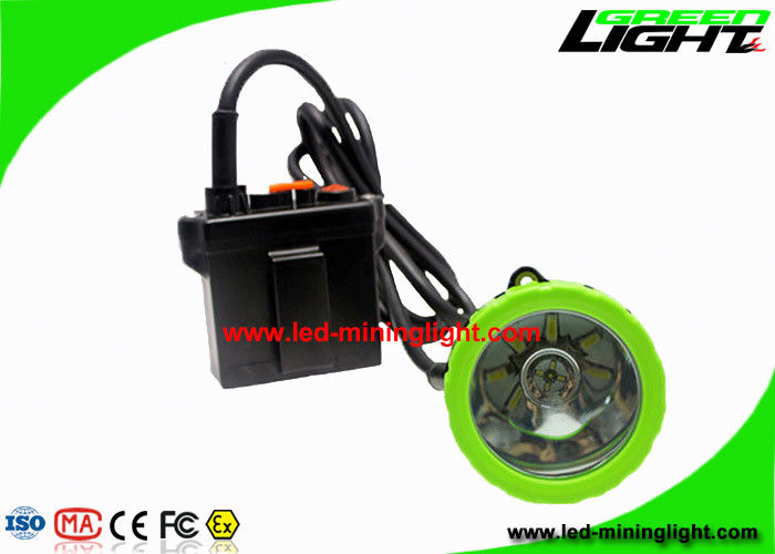 650Lum 3.7W LED Mining Light 11.2Ah Rechargeable With 13 Hours Lighting Time