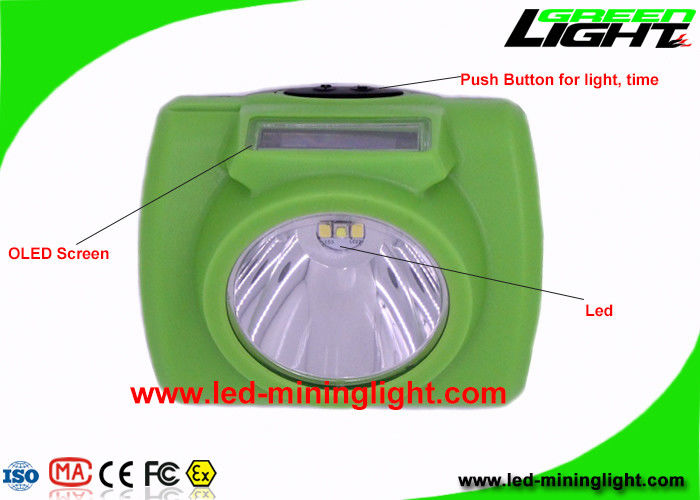 13000 Lux Rechargeable Led Hard Hat Light Detachable Structure Anti - Explosion