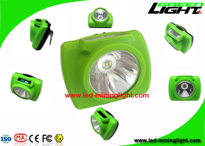 PC High Beam Safety Rechargeable LED Headlamp For Underground Mining Tunneling
