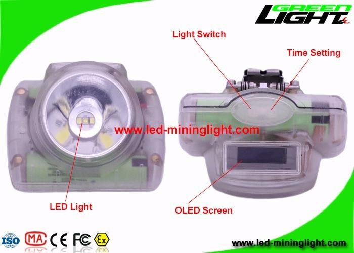 Flame - Resistant Rechargeable LED Headlamp With Electrical Intelligent Protection