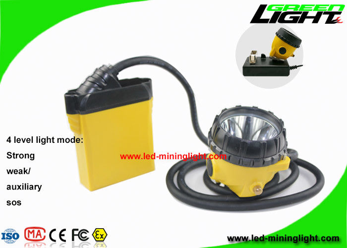 10.4Ah Coal Mining Lights 25000lux Brightness Fast Charging Low Power For Emergency