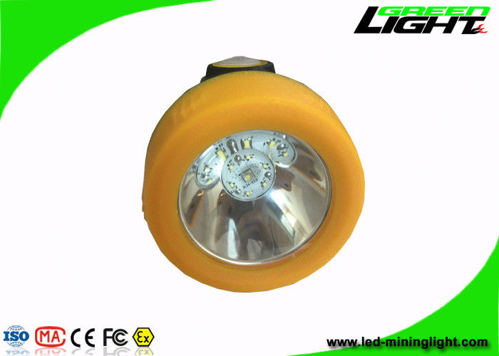 Explosion Resistant LED Mining Cap Lamp Long Working Time With Charging Indication