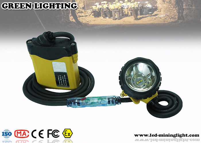 Corrosion - Proof Mining Hard Hat LED Lights Multi - Functional With Over Charging Protection