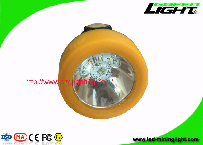Water Resistant LED Mining Light Orange / Black Color With One Year Warranty