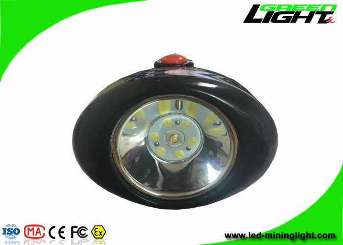 Black Shell LED Mining Headlamp High Safety For Patrolling / Overhauling / Emergency