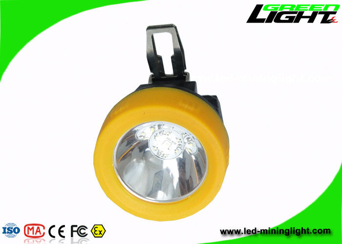 Anti Flame Miners Cap Lamps Cordless 3.8Ah Battery 13 - 15hours Working Time CE support USB charging