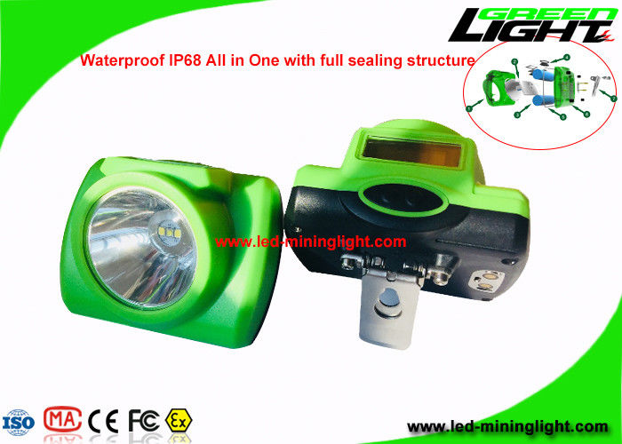 Wireless High Lumen Headlamp , Rechargeable Led Headlight With USB Charging