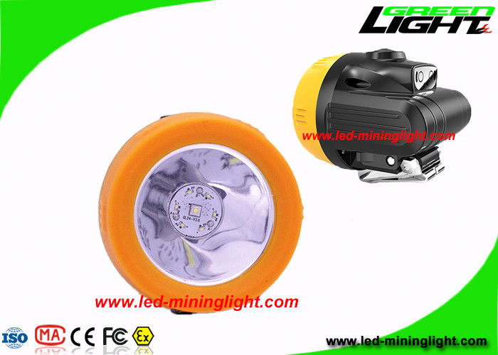 Light Weight 10000 Lux Economic Coal Mining Headlamp with USB Charger High Low Beam