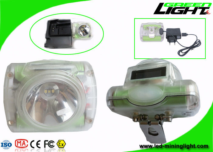 Cordless Mining Hard Hat Lights Lightweight GLC-6 IP68 13000 Lux Super Bright