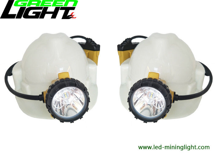 Big Power 348lum Rechargeable LED Headlamp Anti Explosive IP68 GL12-A Corded Cap