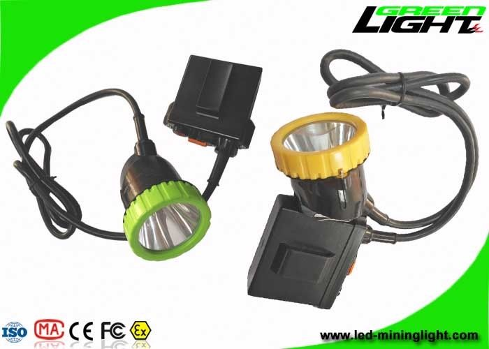 Waterproof IP67 Mining Rechargeable LED Headlamp 3.7V 11.2Ah 50000lux For Hunting