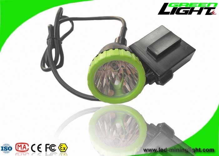 3.7W High Power LED Coal Mining Lights 50000lux 13hrs Lighting Time Head Lamps