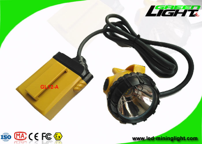 25000 Lux High Intensity LED Mining cap Light super performance 100000hrs life span with low power warning light