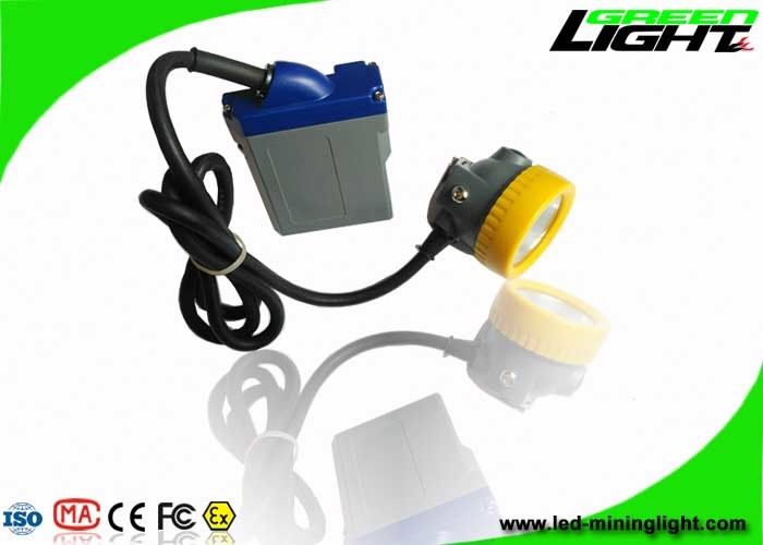 6.6Ah Rechargeable Battery Mining Cap Lights Underground Corded Headlamp GLT-7C