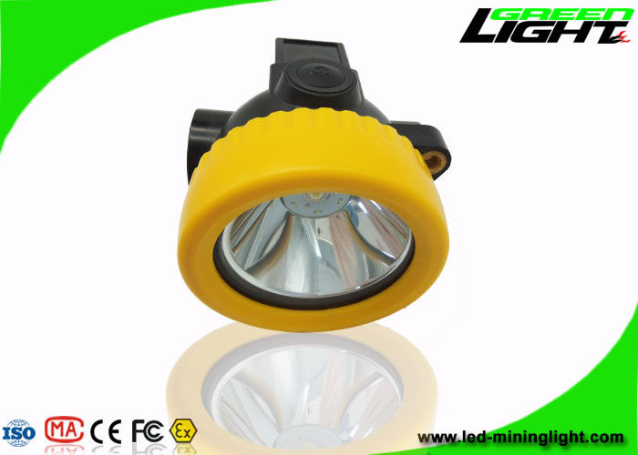 4000lux Mining Hard Hat Lights 2.2Ah Battery All In One Strcture With Plug In Chager