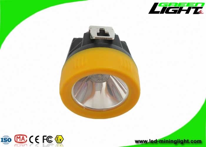 Safety Cordless Mining Lights 10000lux USB Charging 3.8Ah Battery Capacity 1.1W