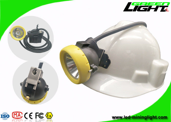 Underground LED Mining Light Anti Explosive 10000 Lux Brightness Silicon Button Cap