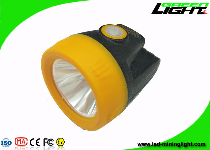 10000lux Cordless Cap Lamp Mining IP68 3.8Ah Battery Direct / USB Charging