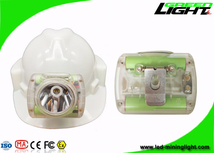Rechargeable Miners Helmet Light , Portable Coal Wireless Hard Hat Led Lights13000 Lux