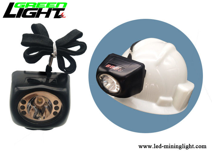 Anti Explosive Miners Cap Lamp , Waterproof 8000lux Miners Lights For Hard Hats