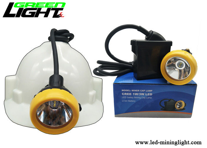Light Weight Coal Mining Lights ABS Material Support 18 Hours Discharging Time