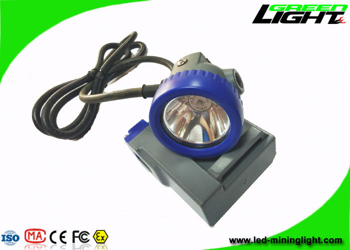 1000 Battery Cycles LED Mining Light 10000lux High Beam IP68 1 Year Warranty