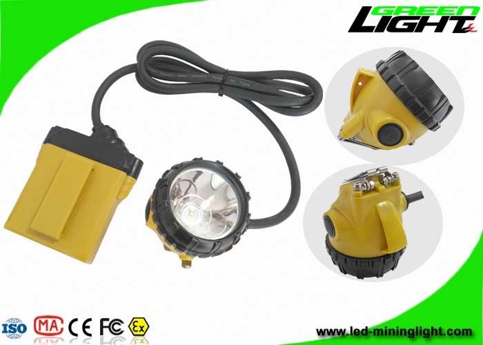 10.4Ah Samsung Battery Coal Mining Lights 25000lux Brightness With SOS Low Power Warning Function