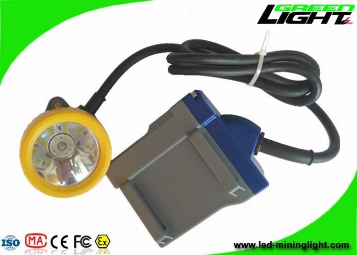Corded Flame Resistant Coal Mining Lights 15000lux High Brightness 1 Year Warranty
